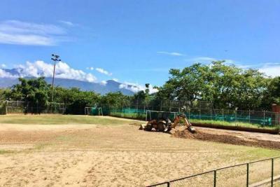 Suspendidas obras del Estadio Municipal de El Socorro