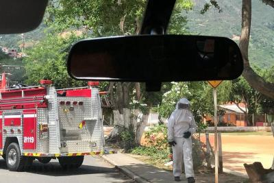 Ataque de abejas dejó dos heridos en Girón