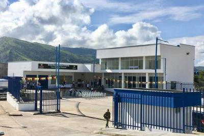 Gobierno Departamental inauguró obras en Oiba