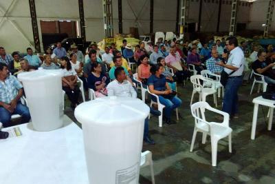Mejoras al agua de 250 caficultores