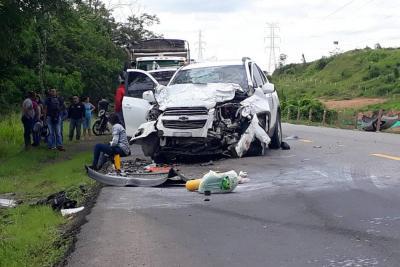 Dos muertos y tres heridos dejó grave accidente de tránsito en vía a Barrancabermeja