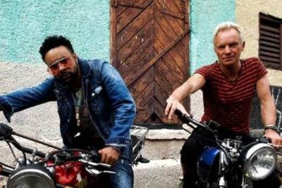 Todo listo para la llegada a Bogotá de Sting y Shaggy