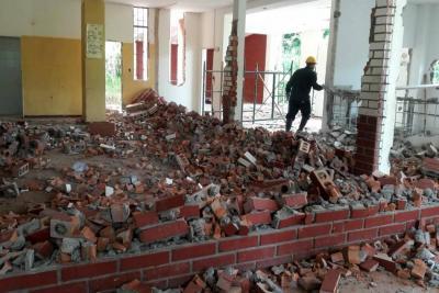 Frenan construcción de un megacolegio
