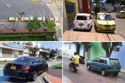 Denuncian infracciones de tránsito en varios puntos de Bucaramanga