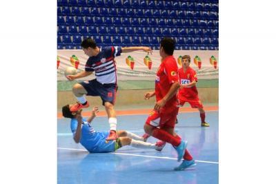 Goles al por mayor en el Municipal de Fútbol Sala