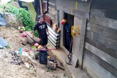 Lluvia genera emergencias en la Hacienda Río de Oro