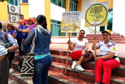 Los docentes del Puerto se unen hoy al paro nacional