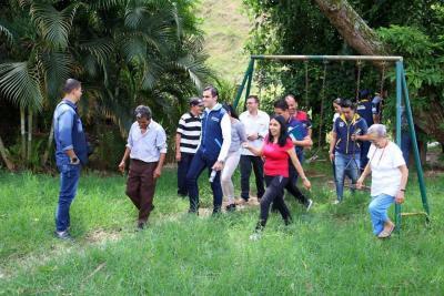 Alcalde llegó con su Ruta Ciudadana a El Carmen
