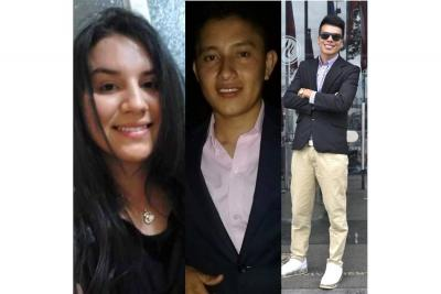 Fatal accidente enluta a tres familias de la Provincia