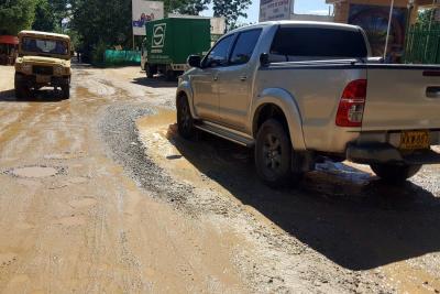 Temporada de lluvias desnudo falencias viales en Barroblanco