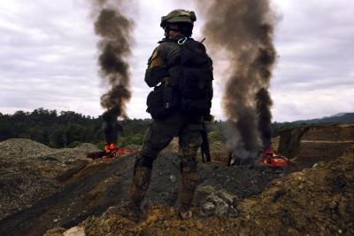 Militarizar la frontera, medida poco eficaz
