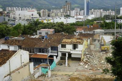 Fijan el plazo para  demoler viviendas  en Molinos Altos en Floridablanca