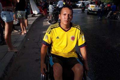 """""""Me quedé en la calle"""": Una de las víctimas del incendio"""