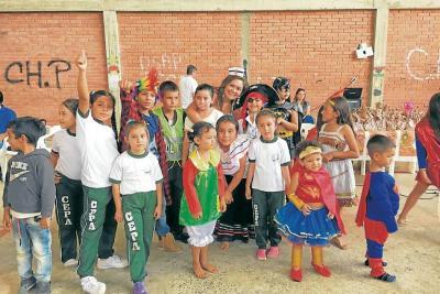 Palmas del Socorro celebró la fiesta de niños y niñas
