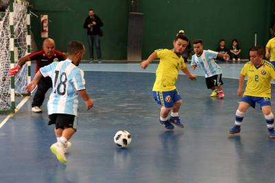 Colombia fue goleada en Copa América de talla baja