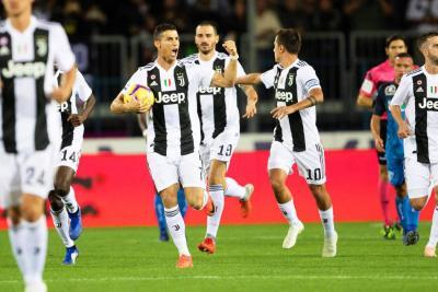 Gol de Cristiano Ronaldo rescató a la Juventus ante Empoli