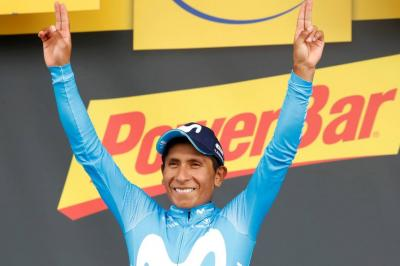 Nairo Quintana, en el salón de la fama del ciclismo