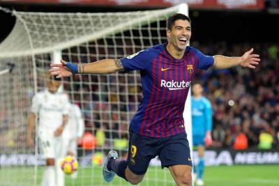 Barcelona goleó 5 -1 al Real Madrid en el Camp Nou