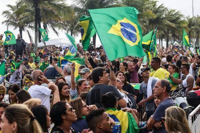 La mayoría de los colegios electorales de Brasil ya cerró