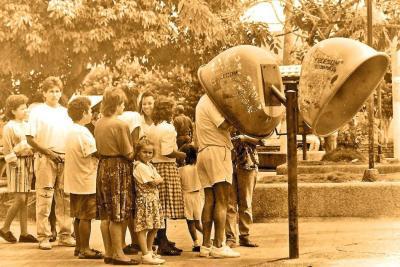 Cuando en Bucaramanga 'se hacía cola' para hablar por teléfono
