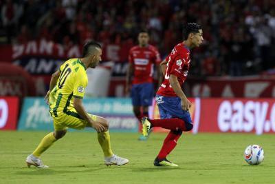 Medellín acabó con la racha de victorias del Bucaramanga