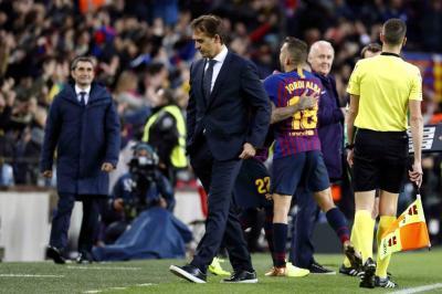 Real Madrid prescindió de Lopetegui y encargó a Solari