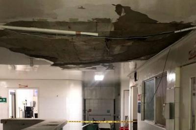 Sin fecha de apertura, el área de Urgencias del Hospital San Juan de Dios