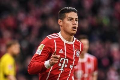 Crecen rumores sobre posible salida de James del Bayern Múnich