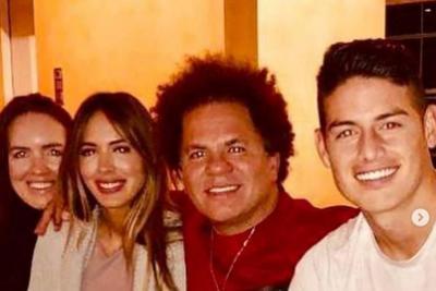Nueva foto de Shannon de Lima y James Rodríguez juntos y... ¡muy felices!