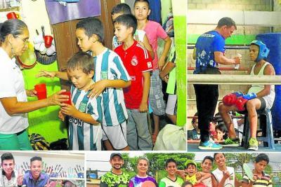 Los superhéroes de carne y hueso para los niños de Bucaramanga