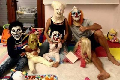 Cristiano Ronaldo y su familia sorprendieron con disfraces este Halloween