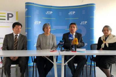 La Fiscalía y la JEP harán intercambio de información