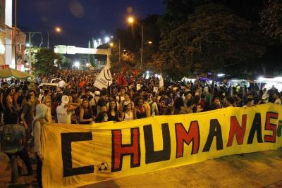Afectación en la movilidad y vandalismo dejó la marcha 'zombie' en Bucaramanga