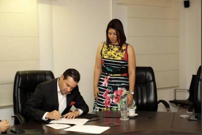 Inés Andrea Aguilar es la nueva Secretaria de Educación