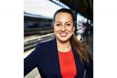 Catalina Cruz, candidata colombiana.