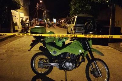El pasado lunes 29 de octubre fue baleado en el barrio La Paz el funcionario Miguel Ángel Cuartas Suárez. Minutos después del atentado, murió.