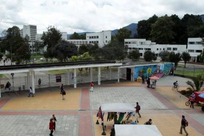 Estudiantes se toman sede administrativa de la Universidad Nacional en Bogotá