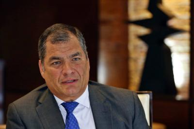 Expresidente de Ecuador Correa es llamado a juicio por secuestro de opositor