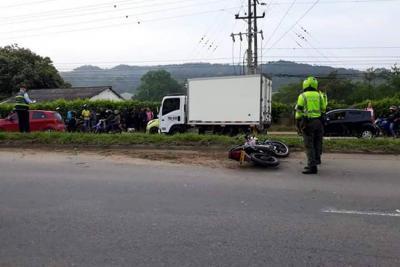Accidente de tránsito dejó otro motociclista muerto en Bucaramanga