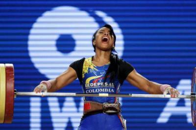Leidy Solís suma otra medalla para Colombia en Turkmenistán