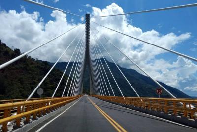 Esto fue lo que dejó la visita de inspección en el puente Hisgaura, en Santander