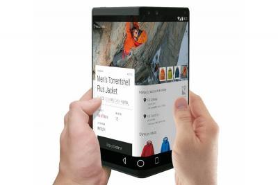 Samsung presenta una pantalla plegable que incorporará a smartphones en 2019