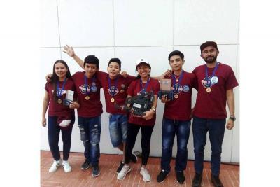 Campeones nacionales de robótica son de Barichara
