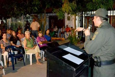 Autoridades y comunidad empezarán encuentros el lunes en la comuna Siete