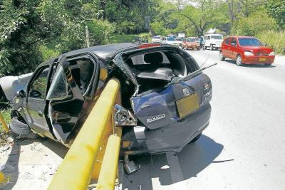 ¿Quién responde por los accidentes en la autopista entre Piedecuesta y Floridablanca?