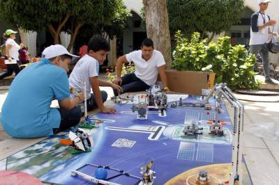 Bucaramanga fue la sede del concurso regional de robótica