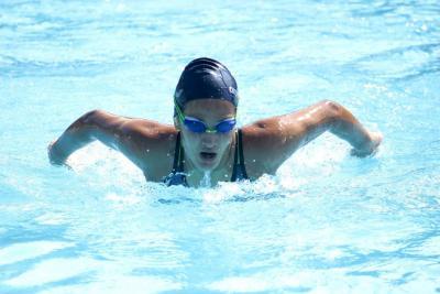 Santander brilla en natación y atletismo