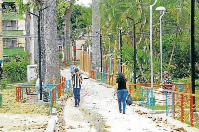 Obras del Sendero Ecológico de Bucarica en Floridablanca fueron suspendidas