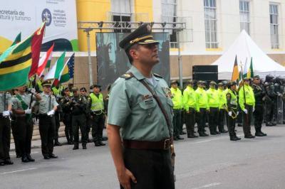 Coronel Carlos Cabrera es el nuevo comandante de la Policía de Santander