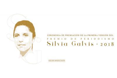UNAB entrega 'Premio de Periodismo Silvia Galvis 2018'